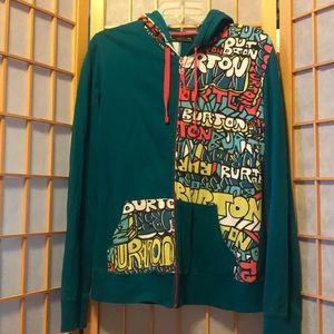 Women's Size Medium Burton Sweatshirt